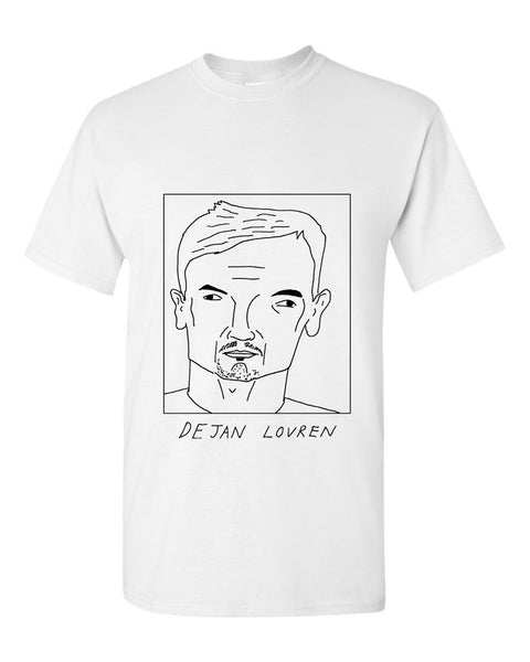 Badly Drawn Dejan Lovren T-shirt - Liverpool FC