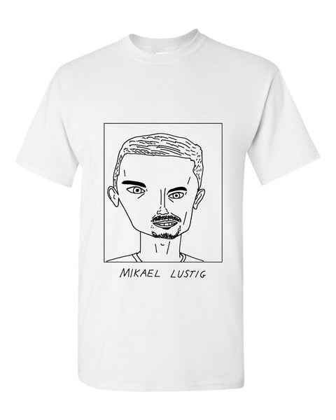 Badly Drawn Mikael Lustig T-shirt - Celtic FC