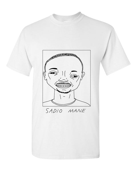 Badly Drawn Sadio Mane T-shirt - Liverpool FC