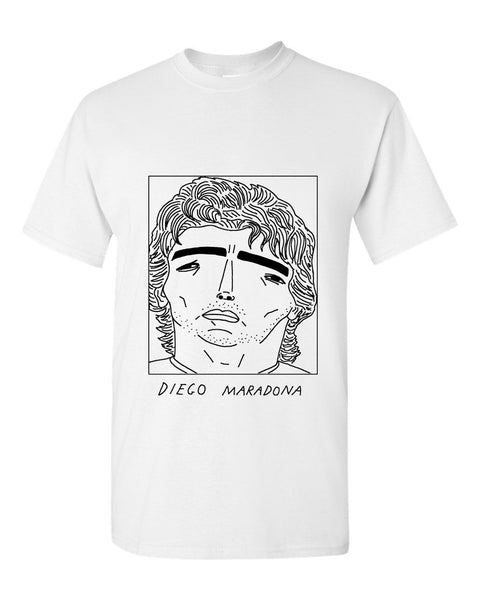 Badly Drawn Maradona T-shirt
