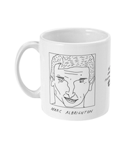 Load image into Gallery viewer, Badly Drawn Footballers Mug - Marc Albrighton