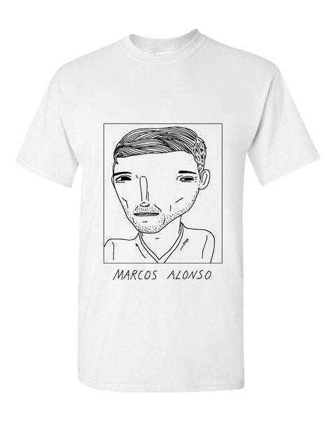 Badly Drawn Marcos Alonso T-shirt - Chelsea FC
