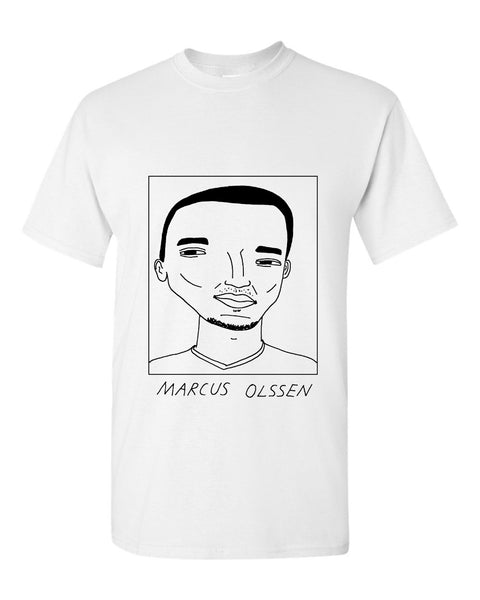 Badly Drawn Marcus Olssen T-shirt - Derby County FC