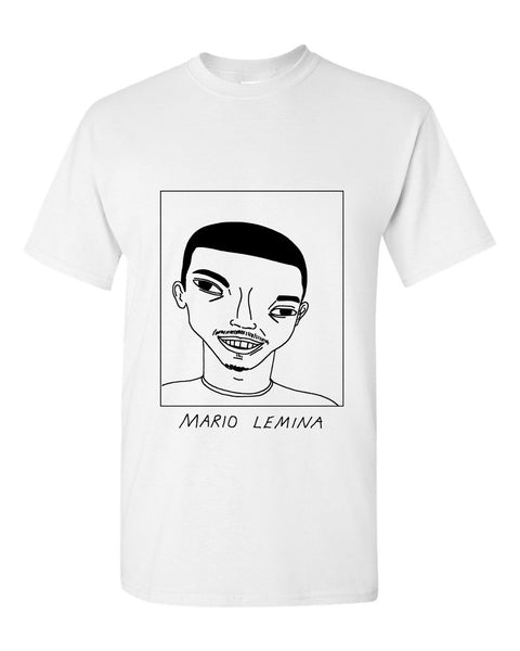 Badly Drawn Mario Lemina T-shirt - Southampton FC