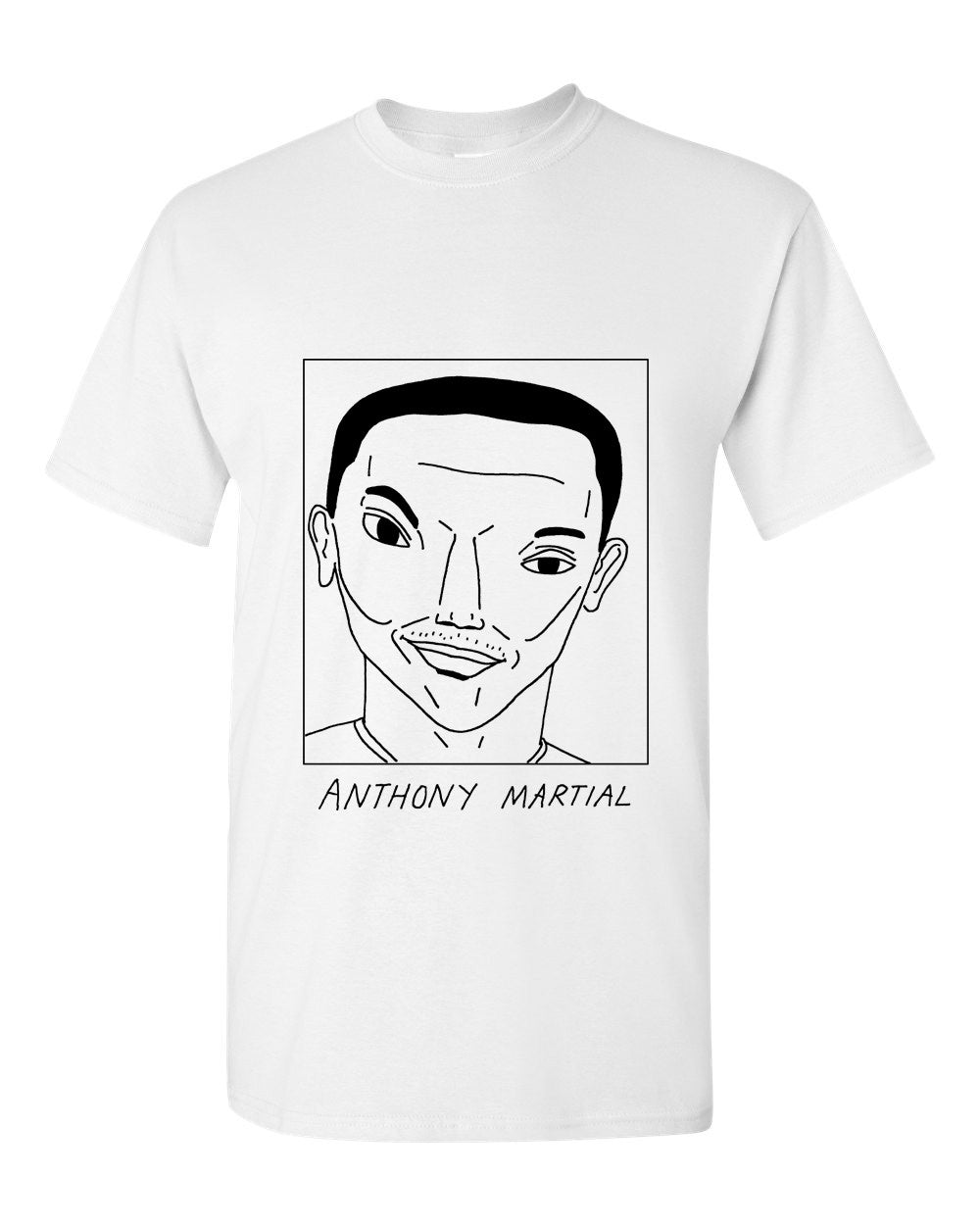 Badly Drawn Anthony Martial T-shirt - Manchester United FC