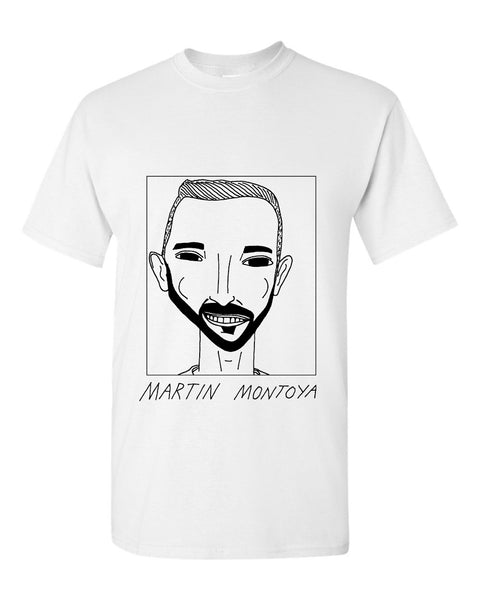 Badly Drawn Martin Montoya T-shirt - Brighton & Hove Albion F.C.