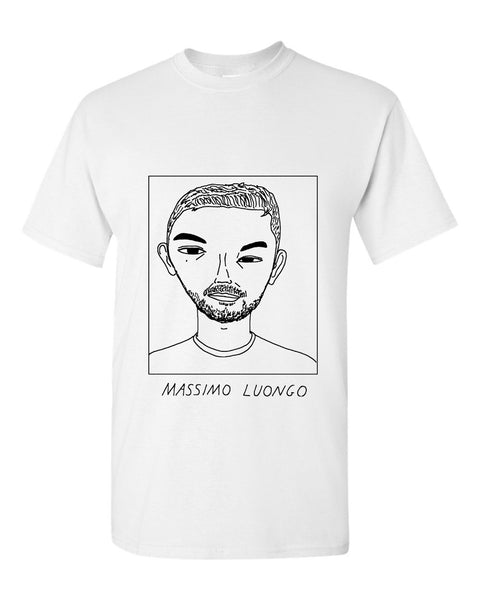 Badly Drawn Massimo Luongo T-shirt - QPR