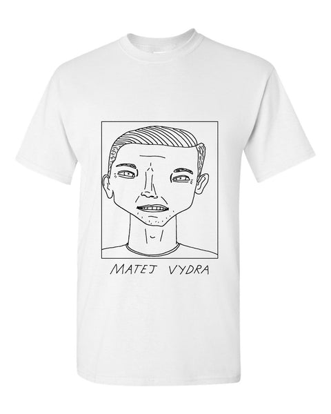 Badly Drawn Matej Vydra T-shirt - Burnley FC