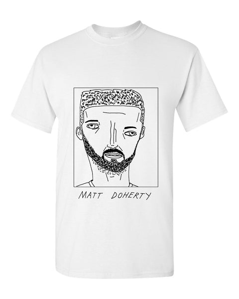 Badly Drawn Matt Doherty  T-shirt - Wolves