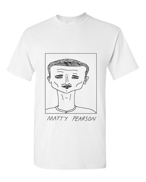 Badly Drawn Matty Pearson T-shirt - Barnsley FC