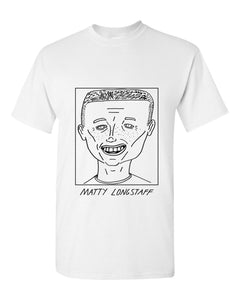 Badly Drawn Footballers T-shirt - Matty Longstaff