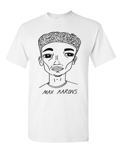 Badly Drawn Max Aarons T-shirt