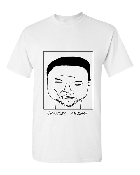 Badly Drawn Chancel Mbemba T-shirt - Newcastle United FC