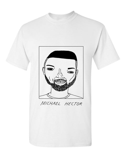 Badly Drawn Michael Hector T-shirt - Sheffield Wednesday FC