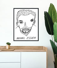 Load image into Gallery viewer, Badly Drawn Footballers - Michael Essien - Poster - 3 FOR 2