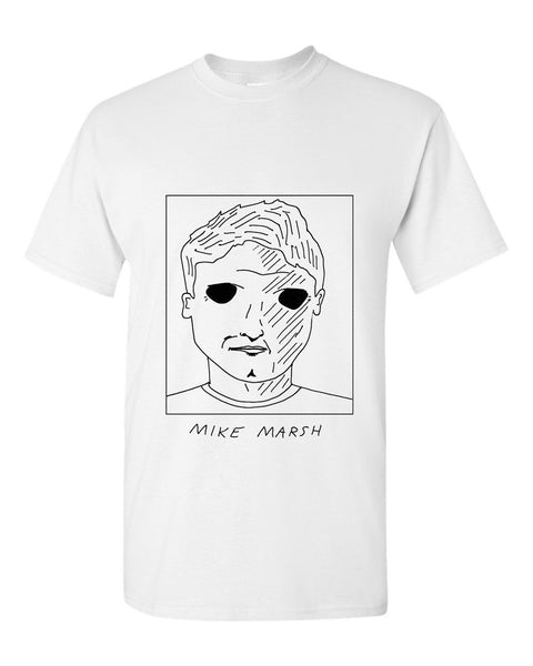 Badly Drawn Mike Marsh T-shirt - 1994 West Ham