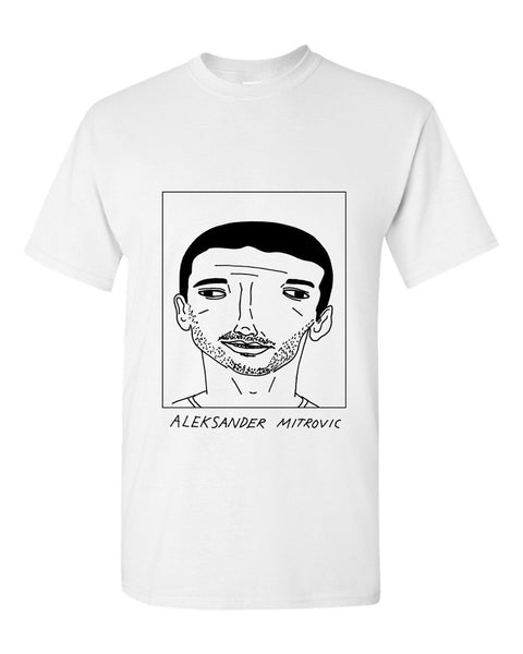 Badly Drawn Aleksander Mitrovic T-shirt - Newcastle United FC