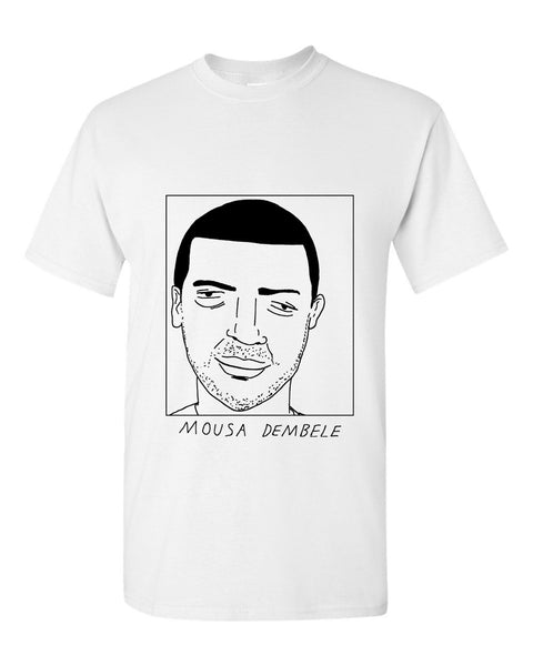 Badly Drawn Mousa Dembele T-shirt - Tottenham Hotspur FC