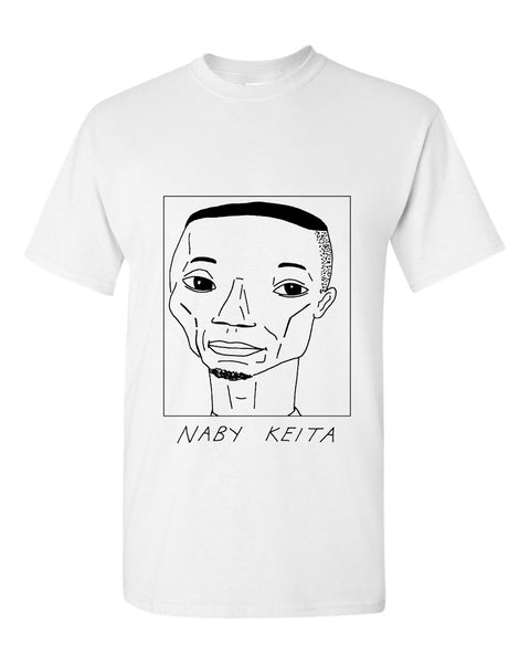 Badly Drawn Naby Keita T-shirt - Liverpool FC