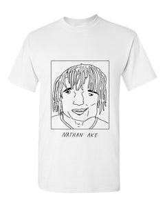 Badly Drawn Nathan Ake T-shirt