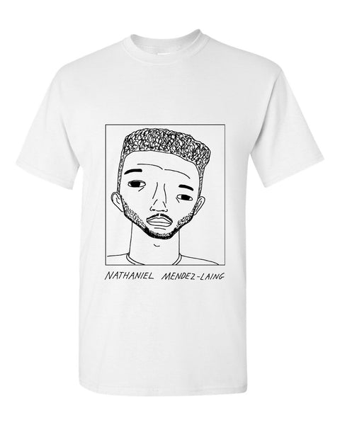 Badly Drawn Nathaniel Mendez-Laing T-shirt - Cardiff City FC