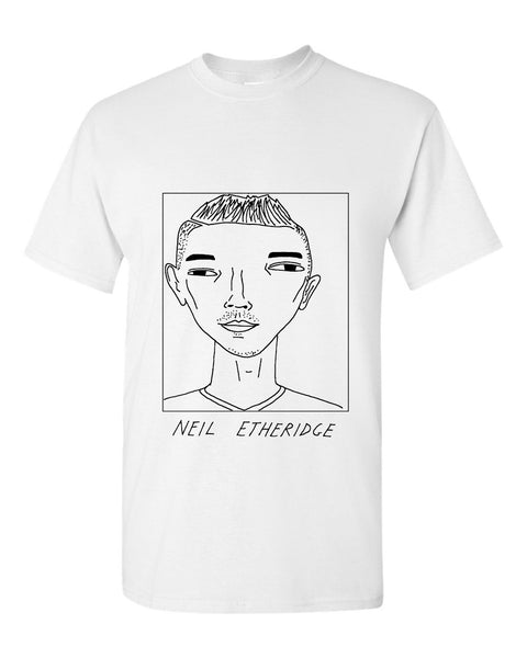 Badly Drawn Neil Etheridge T-shirt - Cardiff City FC