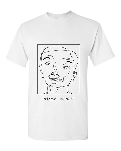 Badly Drawn Mark Noble T-shirt - West Ham United FC
