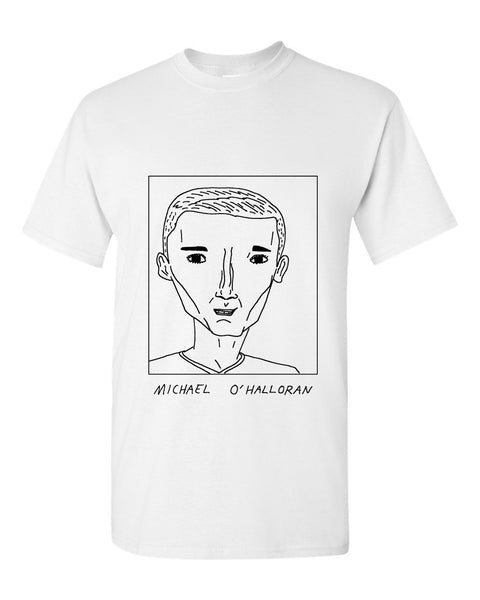 Badly Drawn Michael O'Halloran T-shirt - Rangers FC