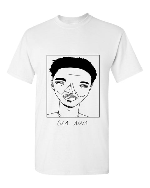 Badly Drawn Ola Aina T-shirt - Hull City