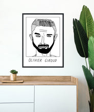 Load image into Gallery viewer, Badly Drawn Footballers - Olivier Giroud - Poster - 3 FOR 2