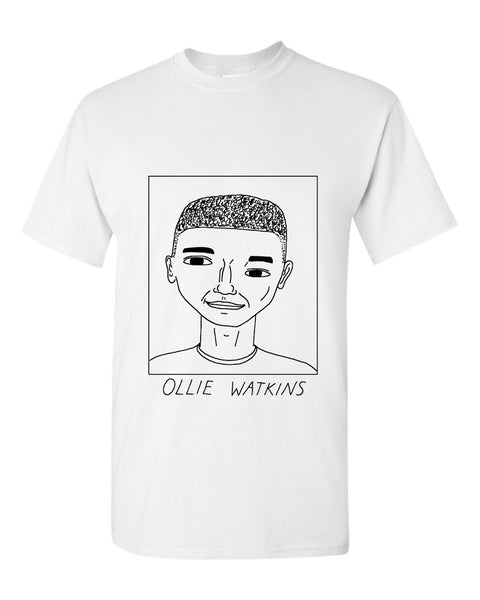 Badly Drawn Ollie Watkins T-shirt - Brentford FC