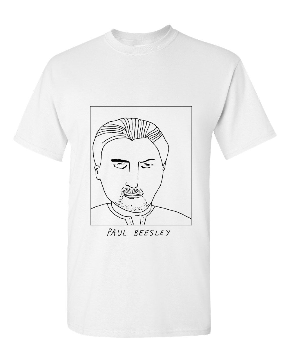 Badly Drawn Paul Beesley T-shirt - 1994 Shef United
