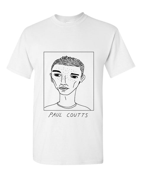 Badly Drawn Paul Coutts T-shirt - Sheffield United FC