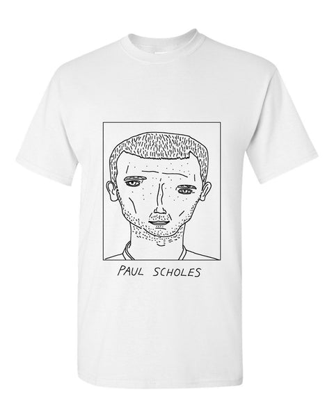 Badly Drawn Paul Scholes T-shirt