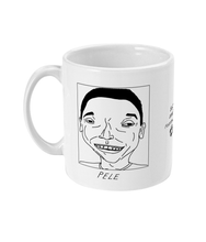 Load image into Gallery viewer, Badly Drawn Footballers Mug - Pele