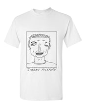 Load image into Gallery viewer, Badly Drawn Jordan Pickford T-shirt