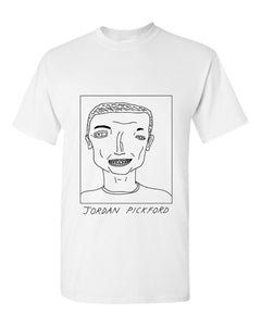 Badly Drawn Jordan Pickford T-shirt