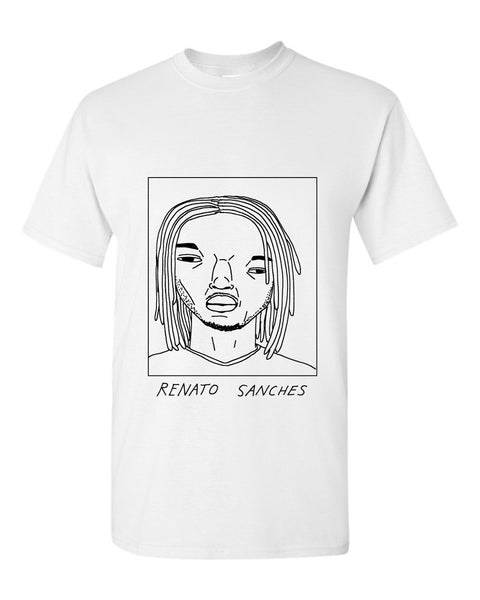 Badly Drawn Renato Sanches T-shirt - Swansea City AFC
