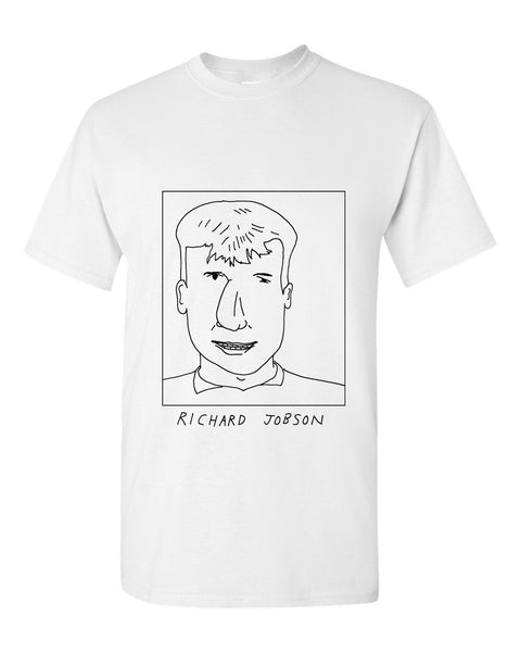 Badly Drawn Richard Jobson T-shirt - 1994 Oldham