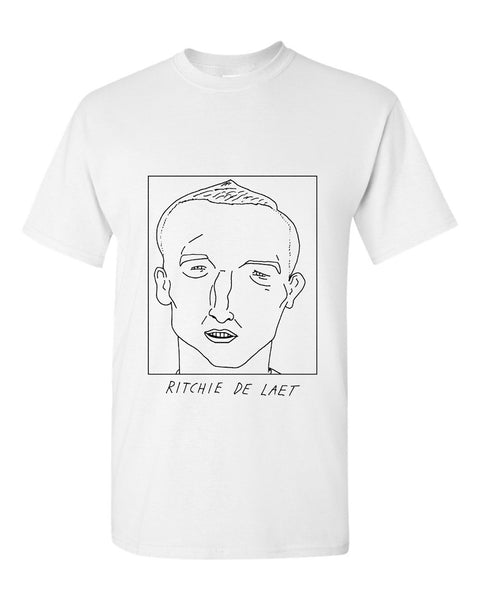 Badly Drawn Ritchie De Laet T-shirt - Aston Villa FC