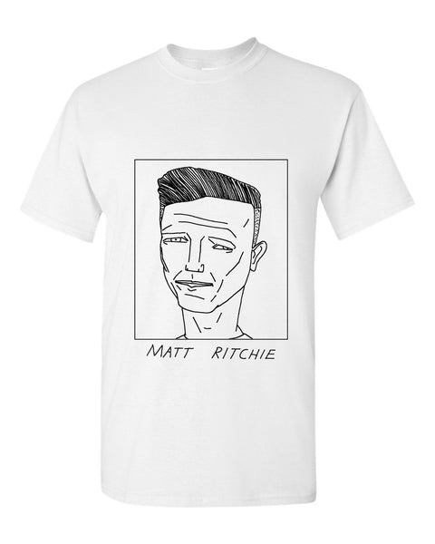 Badly Drawn Matt Ritchie T-shirt - Newcastle United FC
