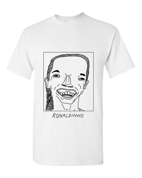 Badly Drawn Ronaldinho T-shirt