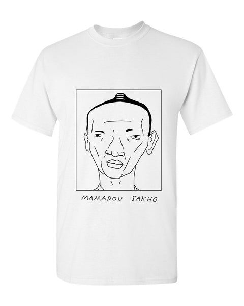 Badly Drawn Mamadou Sakho T-shirt - Crystal Palace FC