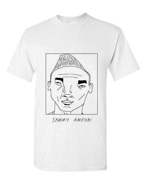 Badly Drawn Sammy Ameobi T-shirt - Bolton Wanderers FC