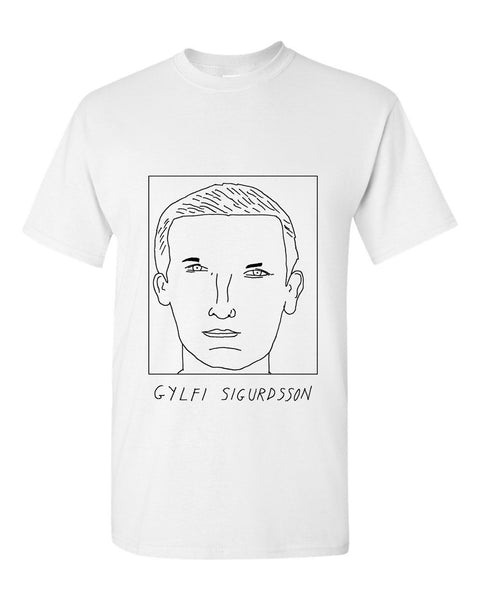 Badly Drawn Gylfi Sigurdsson T-shirt - Everton FC