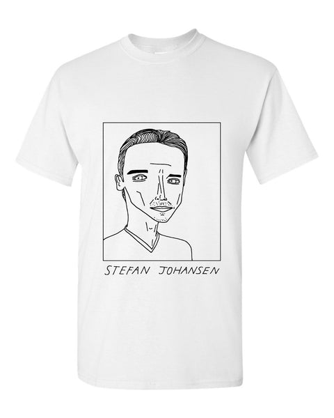 Badly Drawn Stefan Johansen T-shirt - Fulham FC