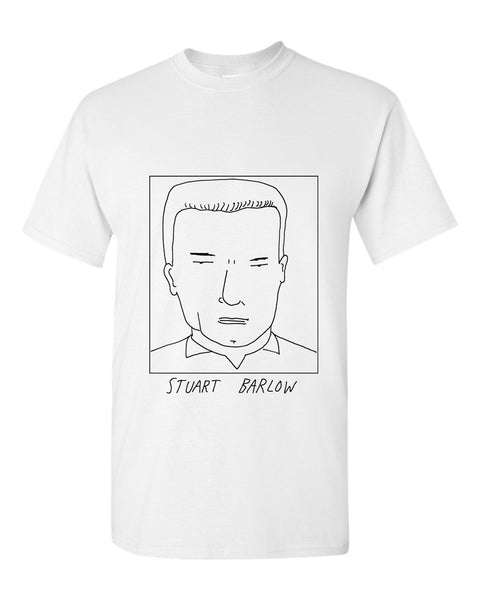 Badly Drawn Stuart Barlow T-shirt - 1994 Everton
