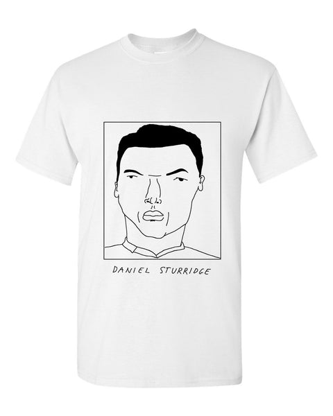 Badly Drawn Daniel Sturridge T-shirt - Liverpool FC