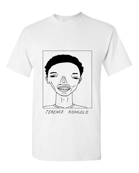 Badly Drawn Terence Kongolo T-shirt - Huddersfield Town AFC