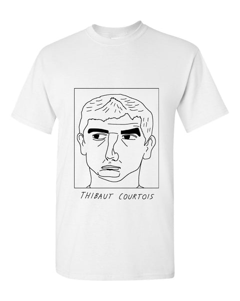 Badly Drawn Thibaut Courtois T-shirt - Chelsea FC